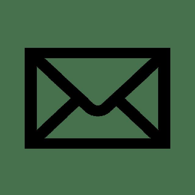 mail icon black