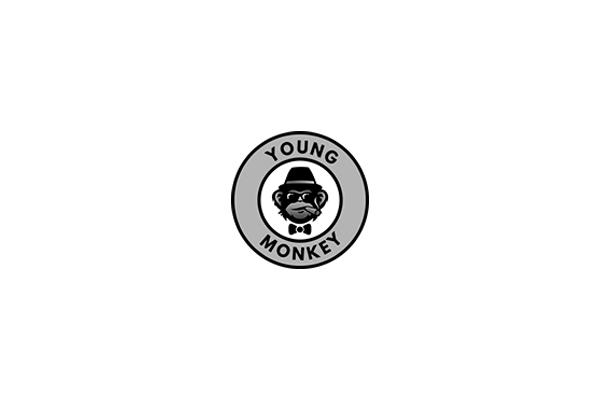 young monkey logo